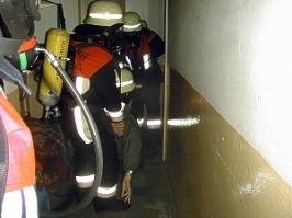 Atemschutzübung am 05. April 2002 - Motorrad Pilsl, Untergriesbach