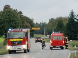 Alarmübung in Roll am 23.09.2013