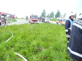 THL-Übung in Wegscheid am 25.05.2013