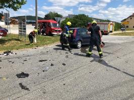 10.07.2019 - Verkehrsunfall