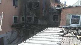 Brand einer Metzgerei am 14.07.2013