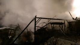 Brand Nebengebäude, 18.01.2017