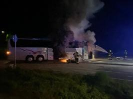 Busbrand am 28.05.2021