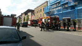Dachstuhlbrand in Obernzell am 09.05.2016