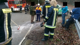 gestürzter Rollerfahrer am 23.12.2015