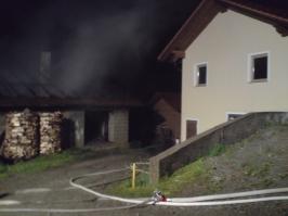 Scheunenbrand eines landwirtschaftlichen Anwesens am 30.05.2010