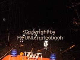 "Sturm ""Kyrill"" - Bäume auf Fahrbahn (19.01.2007)"