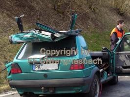 tödlicher Verkehrsunfall in Ziering am 07.03.2007