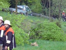 Verkehrsunfall am 28.04.2007 bei Niederwegscheid