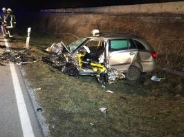 Verkehrsunfall zwischen Obernzell und Erlau am 26.02.2018_2