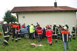 Verkehrsunfall in Rackling am 31.07.2011