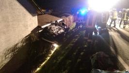 Verkehrsunfall in Rampersdorf am 24.03.2016