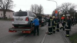 Verkehrsunfall Passauer Straße am 12.04.2013