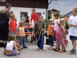 Grillfest am 29.07.2006 (Kindernachmittag)