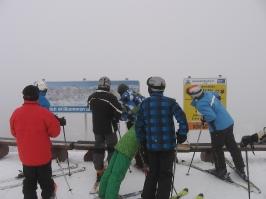 Skifahren Hochkönig 25.02.2012