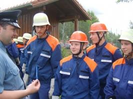 Bayrisches Jugendleistungsabzeichen in Hofkirchen am 23.06.07