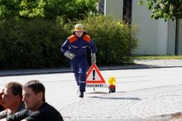 """Leistungsabzeichen """"Die Gruppe im Löscheinsatz"""" am 09.05.2009"""